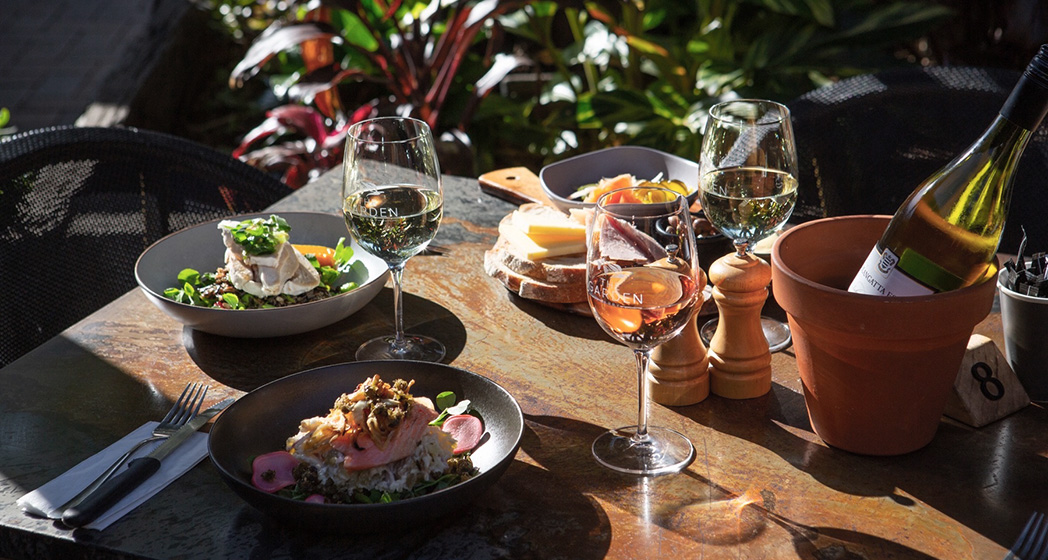 Outdoor Dining Berry NSW The Garden