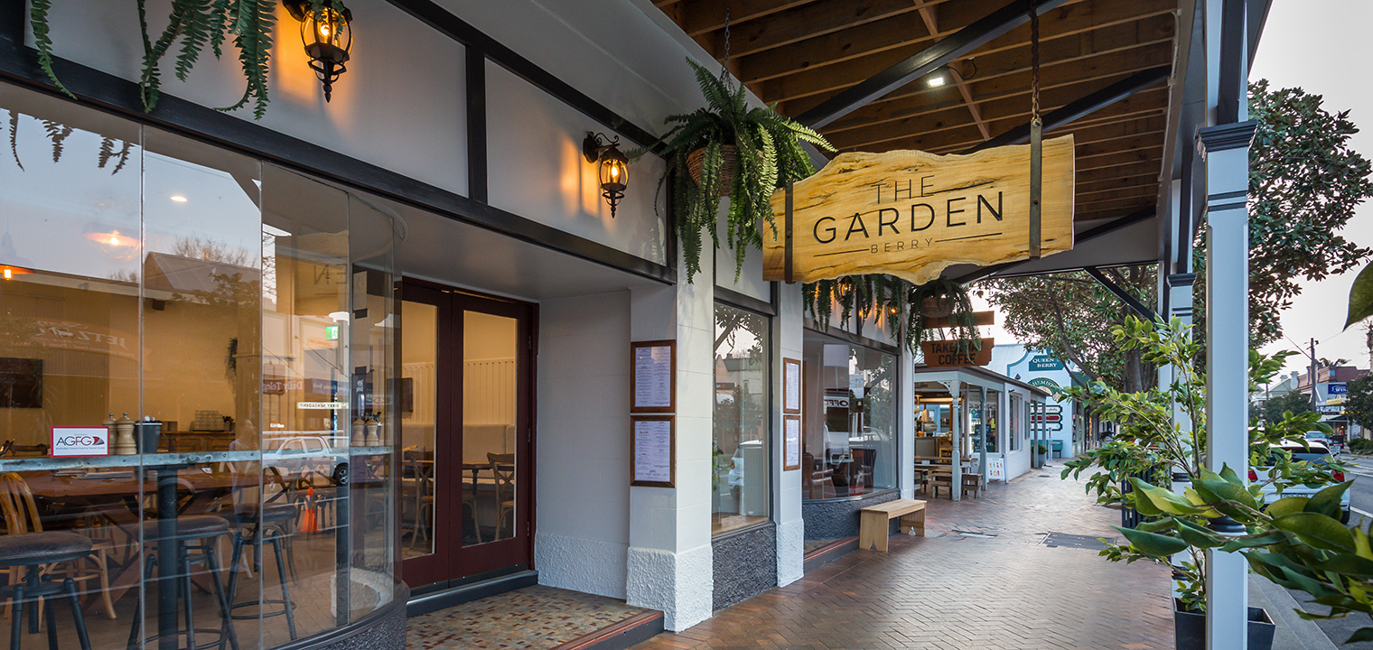 About The Garden Berry NSW | Cafe, Restaurant & Bar